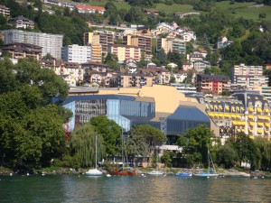 Austragungsort des Jazz Festivals: Das Centre de Congrs in Montreux/VD