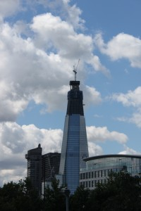 The Shard im Juli 2011