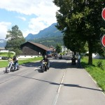 Der Start des rund-um-die-Rigi-Corsos
