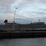 Die Queen Elizabeth in der HafenCity